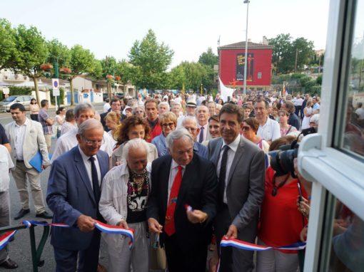 Une Vie, Une Oeuvre, Une Ville, inauguration of Giacomo de Pass exhibition