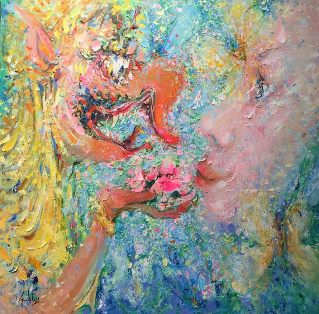 Masques et Divinités: Garuda, cadeau masqué