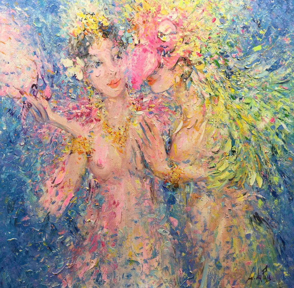 Masques et divinités: Kinari au papillon blanc
